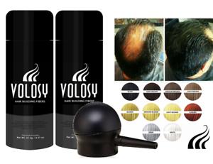 Volosy-Hair-Building-amp-Thickening-Keratin-Natural-Fibers-Set-of-2-Applicator