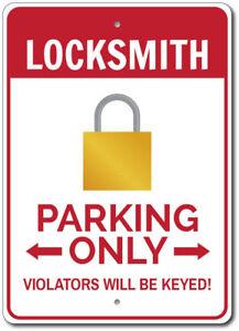 Locksmith-Parking-Sign-Locksmith-Gift-Locksmith-Decor-ENSA1002837