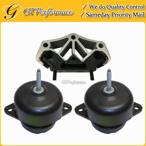 Quality Hydraulic Engine /& Trans Mount 3PCS for 11-15 Ford Mustang 3.7L// 5.0L