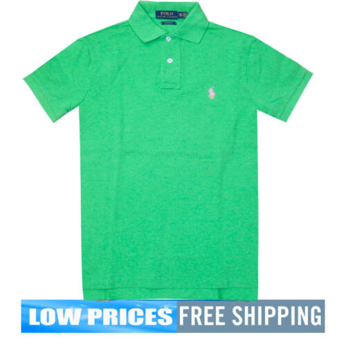 Polo Ralph Lauren Lime Custom Fit Polo Shirts MSRP $89 Free Shipping