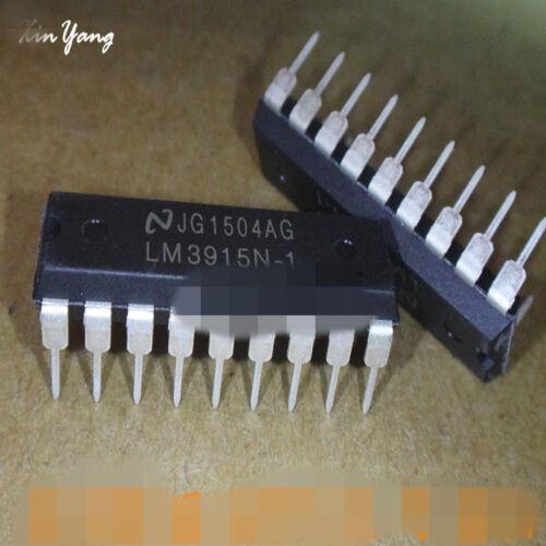 30PCS NSC LM3915N LM3915N-1 DIP-18 LED Bar Dot Display Driver IC
