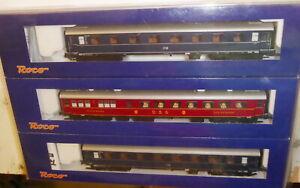 Roco-64041-F-Zug-Set-034-Gambrinus-034-3-teiliges-Wagen-Set-der-DB-Epoche-3-Top-OVP