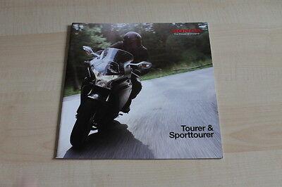 Honda Motorrad Prospekt 02/2011 HüBsch Und Bunt Tourer & Sporttourer Romantisch 106467