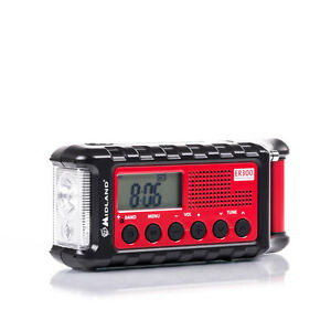 Albrecht-MIDLAND-ER-300-OutdoorRadio-Solarmodul-Handkurbel-Mobile-PowerBank
