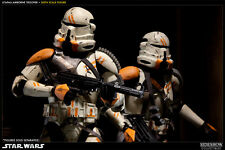 "Sideshow 1/6 UTAPAU AIRBORNE CLONE TROOPER 12"" Star Wars /Hot Toys/Stormtrooper/"
