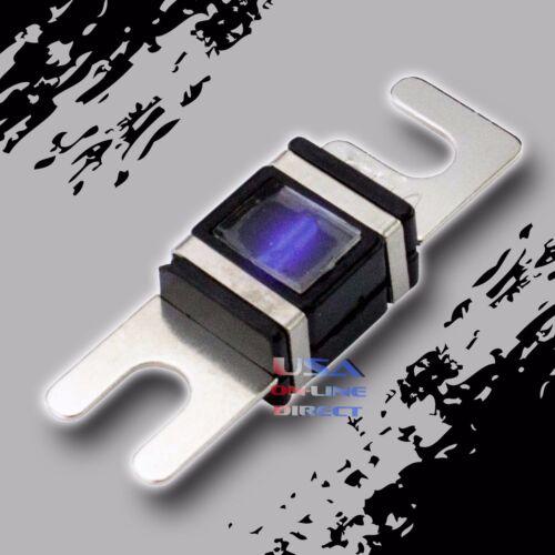WAFER FUSES WITH LED LIGHT Car Marine 100 AMP 6 pcs PLATINUM MINI ANL AFS//MIDI
