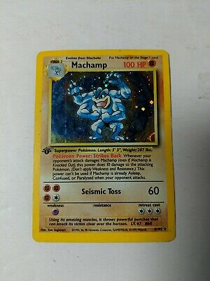 1999 Pokemon Card Machamp 100hp 8 102 Ebay The pokémon database is your source for information and multimedia for the pokémon games. ebay