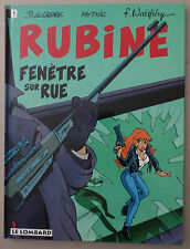 RUBINE  ** TOME 2 FENETRE SUR RUE  **   EO NEUF WALTHERY