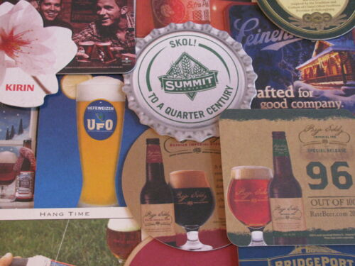 No Dupes Only $13.49 Save on 2+ Lots! 50 New US  /& Imported Beer Coasters