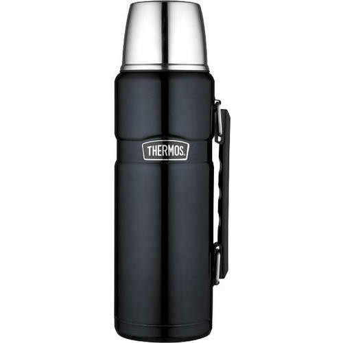 New THERMOS Stainless King S//Steel Vacuum Insulated Flask 1.2 Litre Genuine