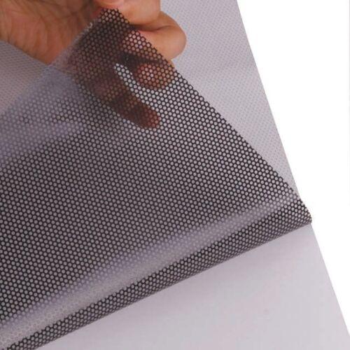 One Way Vision Folie Lochfolie für Digitaldruck 200cm x 152cm Sichtschutzfolie