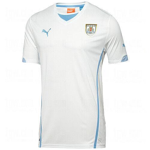 6ea970f63 PUMA Uruguay 2014 World Soccer Replica Away Jersey - White S