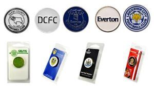 Football-Club-Official-Golf-Ball-Marker-Celtic-Newcastle-Everton-Double-Sided