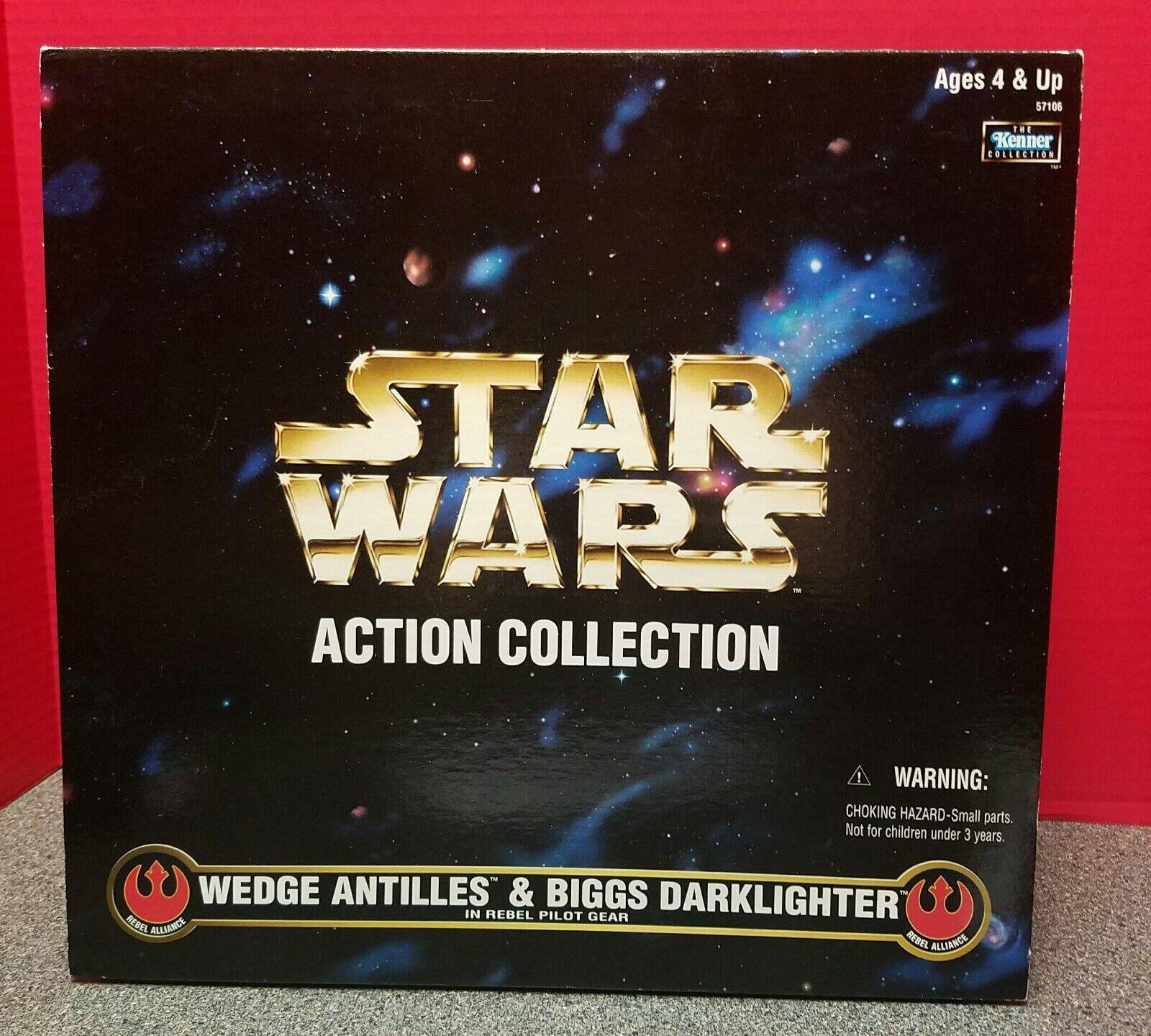 Star - wars - aktion collection 12  keil antillen und biggs wächter 1998 kenner
