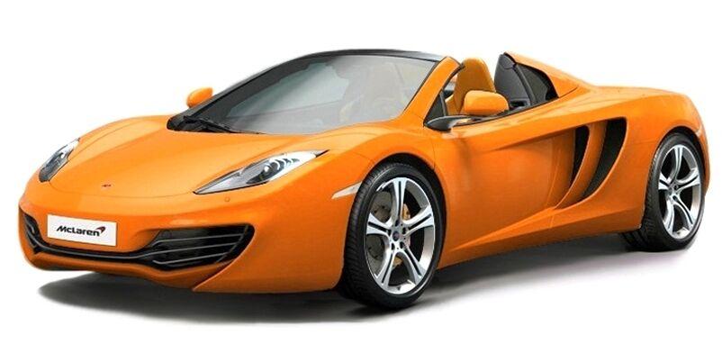 Der wahre maßstab 134337 mclaren mp4 - 2c - miniaturen modell rhd Orange 2013 1 43rd
