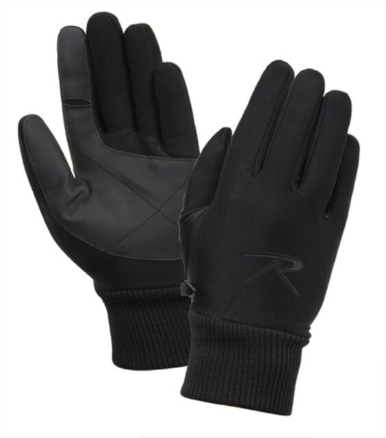 Rothco 4464 Lined All-Weather Stretch Gloves Wind//Waterproof//Breathable