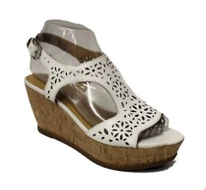 bebffe50128 Image is loading Franco-Sarto-Women-039-s-Flirt-Wedge-Sandal-