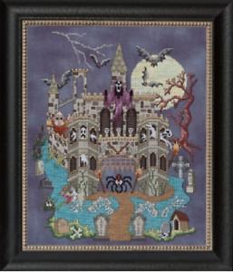 GLENDON-PLACE-Cross-Stitch-Pattern-Chart-CASTLE-LE-CREEP-Halloween