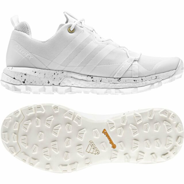 ADIDAS TERREX AGRAVIC BOOST HIKING TRAIL WOMEN'S SHOES SIZE US 9 WHITE CQ1734