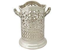 Sterling Silver Bottle Coaster - Antique Edwardian