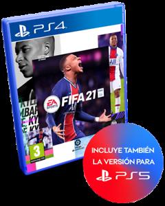 FIFA 21 2021 CD FISICO EN ESPAÑOL CASTELLANO NUEVO PRECINTADO PS4