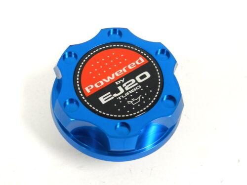 BLUE BILLET RACING ENGINE OIL FILLER CAP SUBARU IMPREZA LEGACY EJ20 TURBO