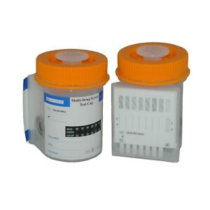 Drug Testing Kit with Urine Collection Cup Integrated 8 in 1 Home Work Test