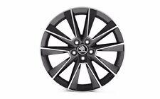 "Original SKODA aloy wheel SAVIO 7.0J x 17"" 5JA071497B FL8"