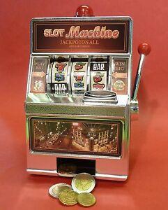 SLOTMACHINE-Geld-Spielautomat-Einarmiger-Bandit-Spardose-Sparschwein-69-1228