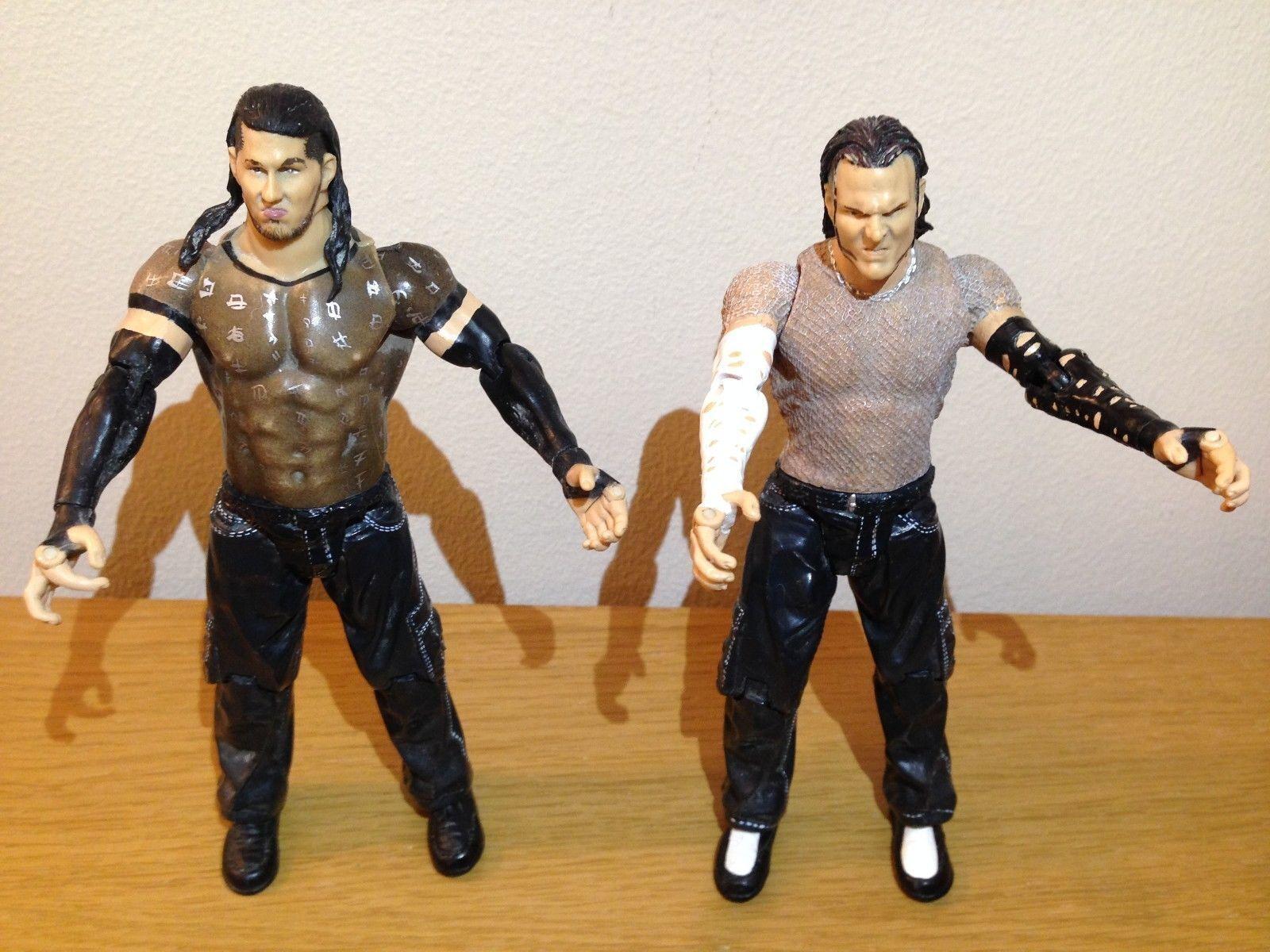 RARE WWF WWE Hardy Boyz Jeff Hardy and Matt Hardy Wrestling figures, loads more