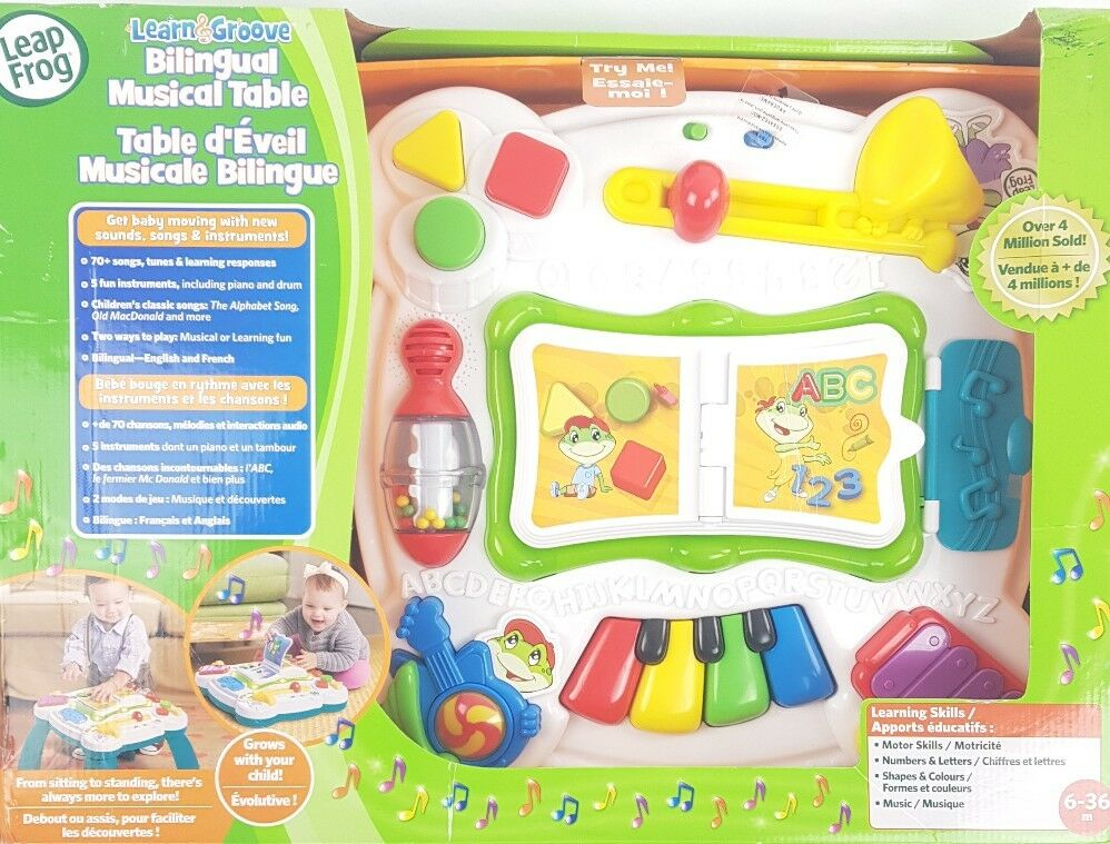 LeapFrog Learn Learn LeapFrog and Groove Musical Table 6fccce