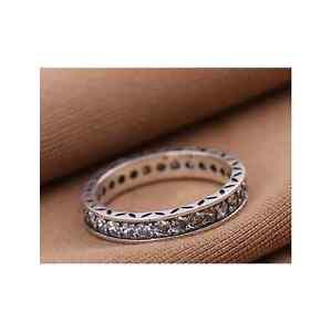 Piedras-claro-plata-esterlina-925-anillo-de-la-eternidad