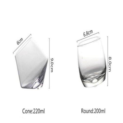 Wide Belly Whiskey Glass Drinking Crystal Tumbler Wine Beer Glass Whisky Bar Cup