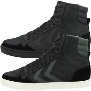 Details zu Hummel Slimmer Stadil Duo Oiled High Top Sneaker Men Herren Retro Schuhe 202 595