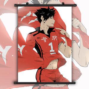 haikyuu Anime Manga Wallscroll Poster Kunstdrucke Bider Drucke