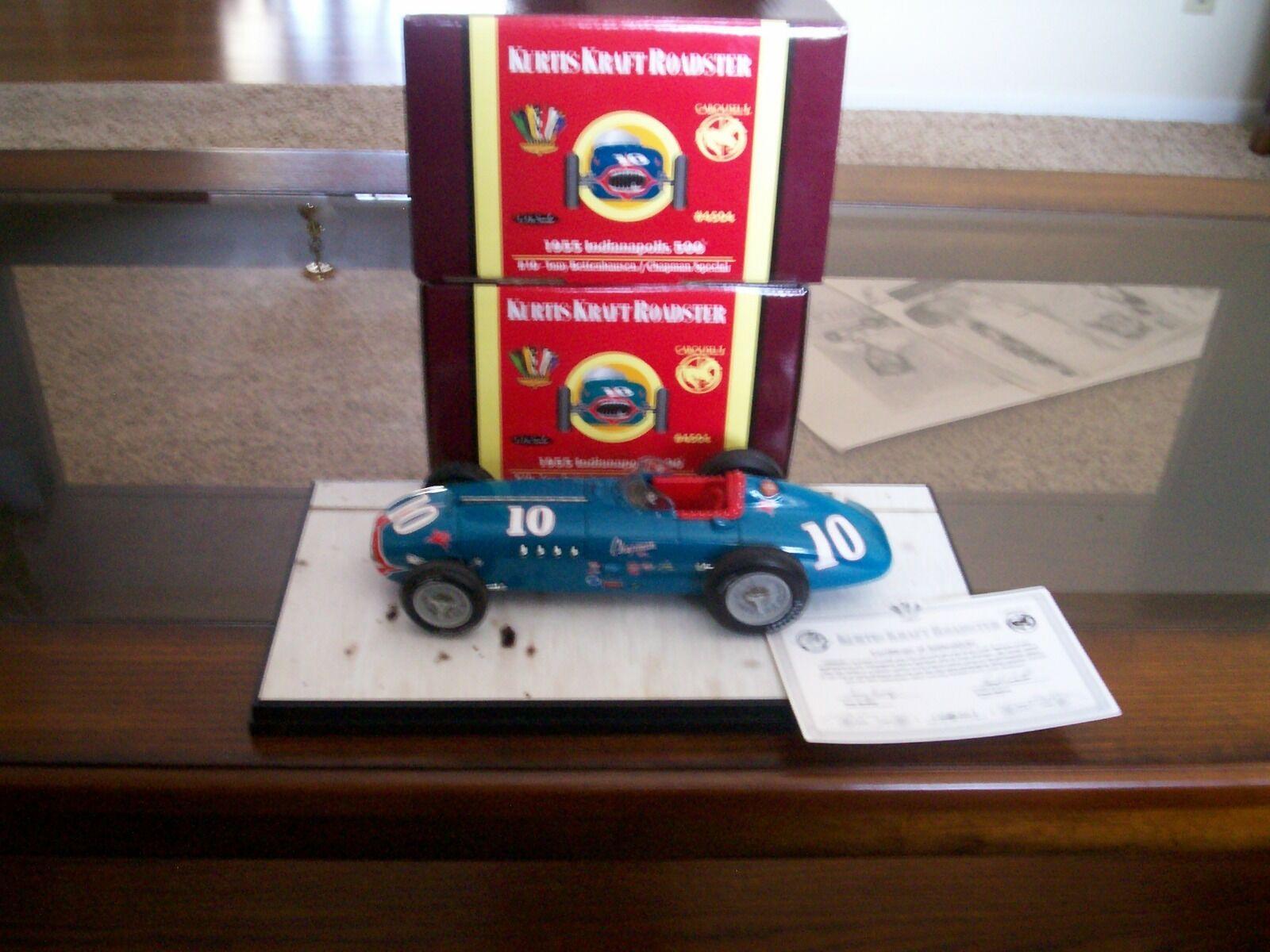 Karusell 1 Chapman särskild  Tony Bettenhausen Indy 500 NIB