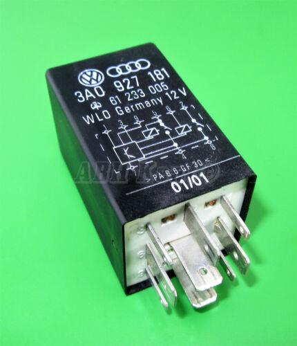 120-Audi VW Seat Black-175 9-Pin Relay 3A0927181 61233005 WLO Germany Module