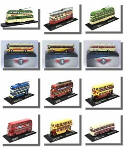 Atlas Editions. Coaches Trams Trolleybuses 1/76 Scale Responsible Buses