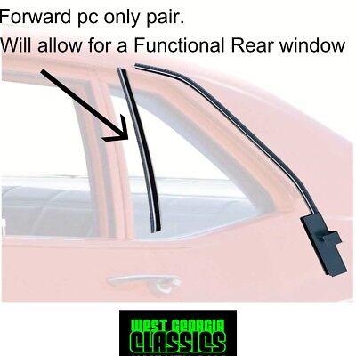 1968 72 Nova Chevy Ii Venture Rear Glass Run Channel Weatherstrip B Pillar Ebay
