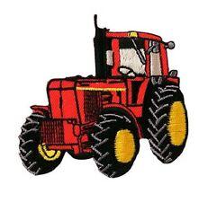 Traktor Trecker - rot - Aufnäher Aufbügler Patch Applikation OVP #9193