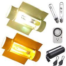 "250w Watt HPS MH Grow Light Kit Dimmable Digital Ballast 6"" Cool Tube Reflector"
