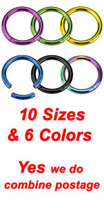 4-Colors-Titanium-Plated-316L-Surgical-Steel-Seemless-Segment-Lip-Rings-Hoops