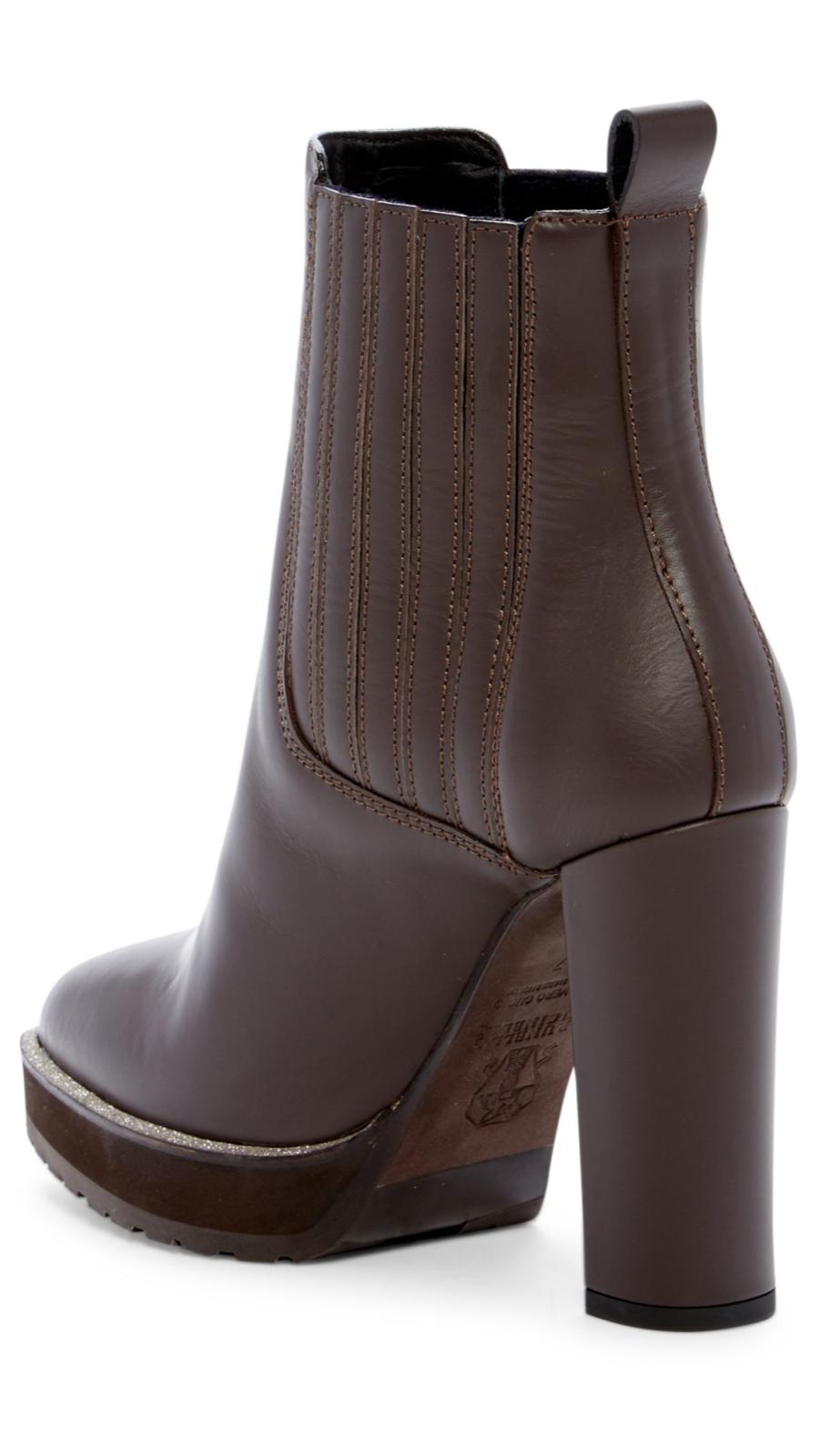 Brunello Cucinelli Block Heel Stiefel Retail 1800.00
