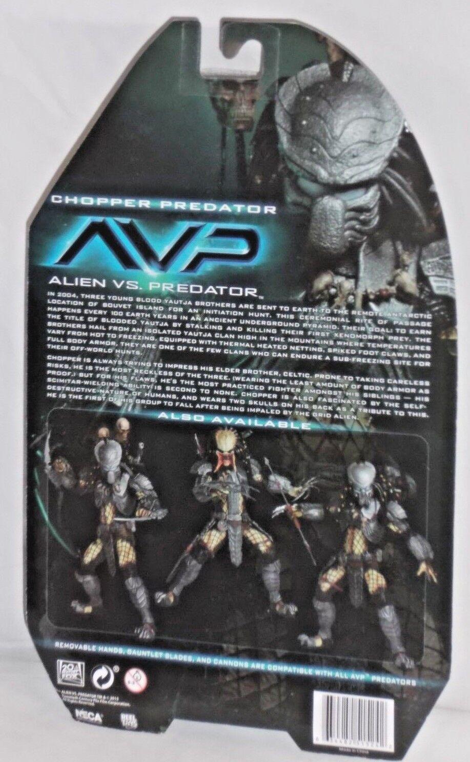 MISP NECA ALIEN vs ProssoATOR Series 14 CHOPPER CHOPPER CHOPPER horror AVP movie 7 action figure c0015a