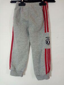 pantalon gris sport jogging Adidas taille 18 24 mois 2 ans etat