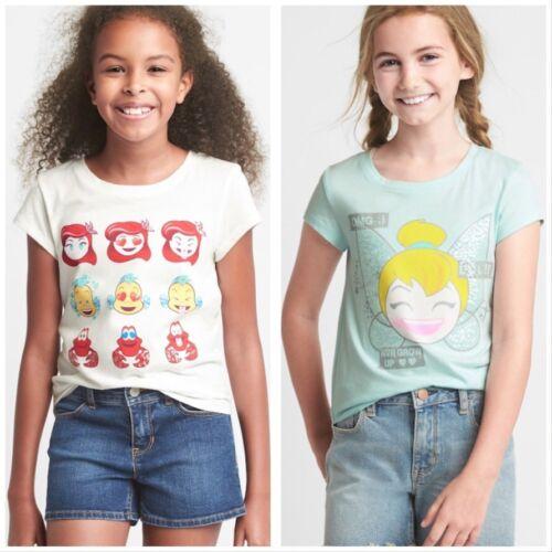 GapKidsDisney Ariel Tinkerbell Never Grow Up embellished short sleeve tee