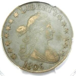 1806 Draped Bust Half Dollar 50C Coin - Certified PCGS VF35 - $1,100 Value!