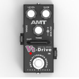 AMT-Electronics-Vt-Drive-MINI-VtD-2-JFET-distortion-pedal-emulates-VHT