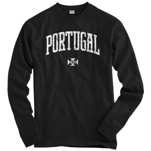 Portugal Long Sleeve T-shirt LS Youth Portuguese Lisbon Porto Sporting Men