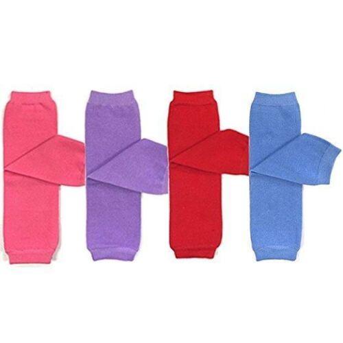 FREE SHIP USA Baby Leg Warmer Set 4 Pack Baby /& Toddler Solid Leg Warmer Set